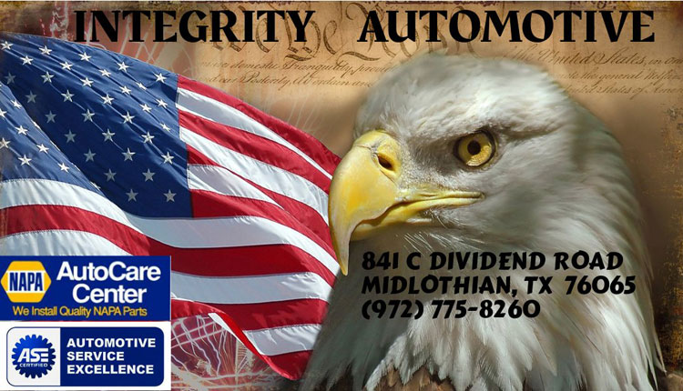 Integrity Automotive Business Card